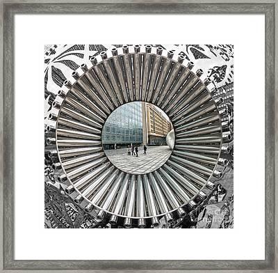 Institut Du Monde Arabe - Paris Framed Print by Luciano Mortula
