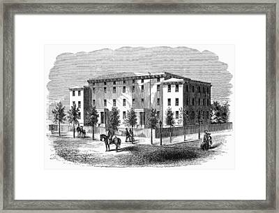 Framed Print featuring the painting Institute For Blind, C1850 by Granger