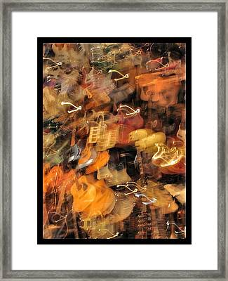 Instrument Abstract  Framed Print by Edward Hamm
