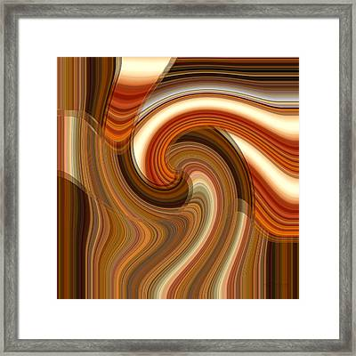 Framed Print featuring the digital art Integral Clarity by rd Erickson