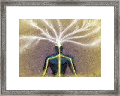 Intellect Framed Print by PsyKey Maker