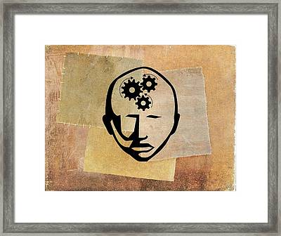 Intelligence Framed Print by Jose Antonio Pe�as