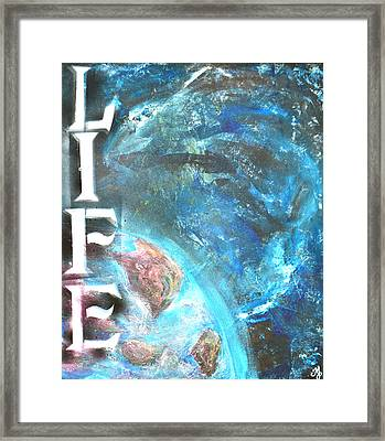 Intelligent Life Framed Print