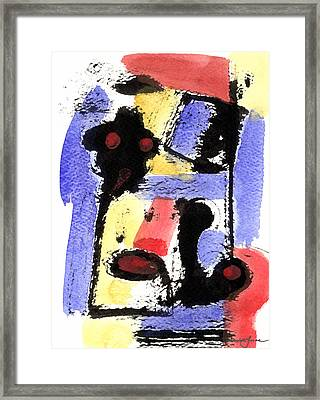 Intense And Purpose 2 Framed Print