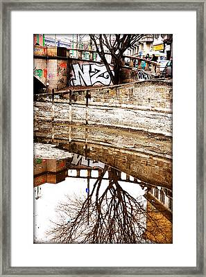 Intense Degrade Framed Print by Valentino Visentini