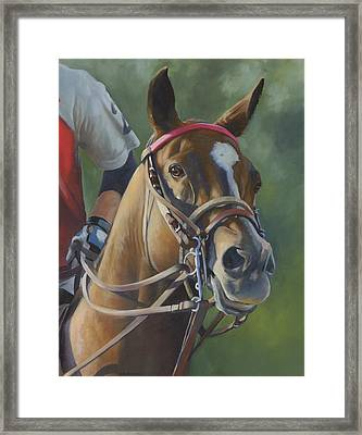 Framed Print featuring the painting Intensity by Alecia Underhill