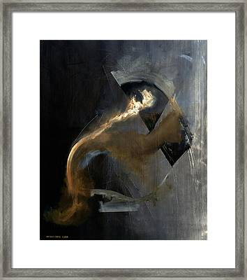 Intensity Framed Print by Antonio Ortiz