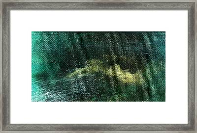 Intensity Natural Framed Print by L J Smith