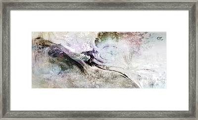 Intention - Abstract Painting Framed Print