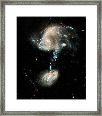 Interacting Galaxies Arp 194 Framed Print by Nasa/esa/hubble Heritage Team (stsci/aura)