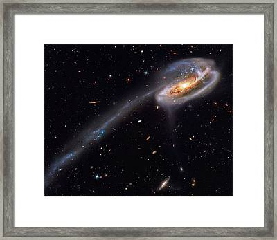 Interacting Galaxies Framed Print by Celestial Images