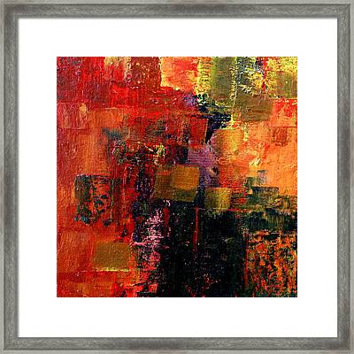 Interaction Framed Print by Jim Whalen