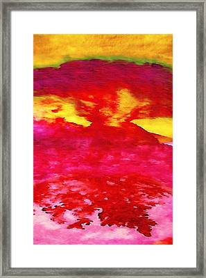Interactions 4 Framed Print by Amy Vangsgard
