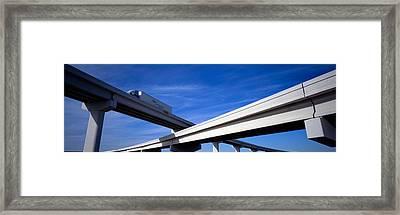Interchange, Texas, Usa Framed Print