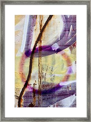 Interconnected Framed Print by Carol Leigh