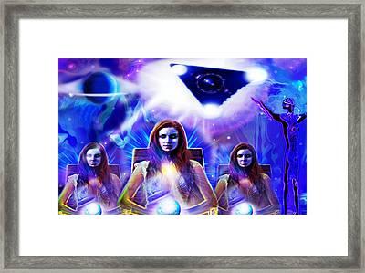 Interdimensional Guardians Framed Print