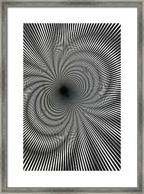 Interference Fringes Framed Print by Mark Williamson