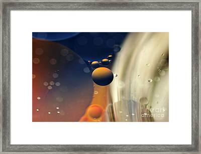 Intergalactic Space Framed Print by Kaye Menner