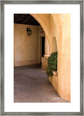 Interior Arches Framed Print by Jon Burch Photography