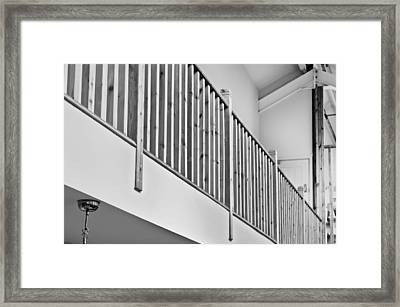 Interior Architecture Framed Print by Tom Gowanlock