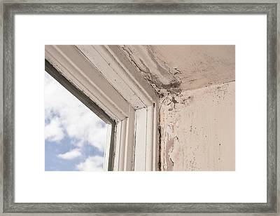 Interior Decay Framed Print