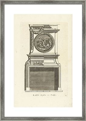 Interior, Decoration, Design, Ornament, Ornamental Framed Print by Jean Lepautre And Justus Danckerts