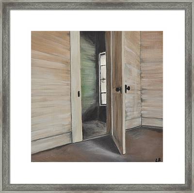 Interior Doorway Framed Print