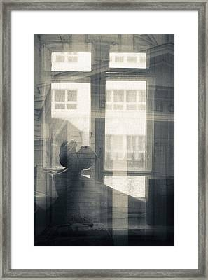 Interior Of Former Home Of Writer Framed Print by Panoramic Images