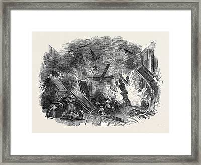 Interior Of Naworth Castle Framed Print