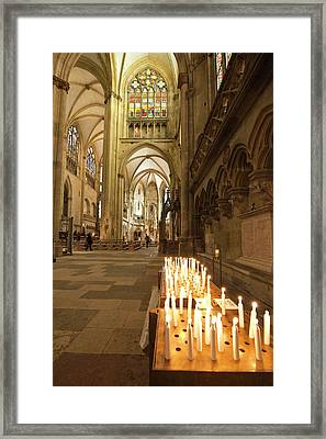 Interior Of St Peter's Cathedral Framed Print