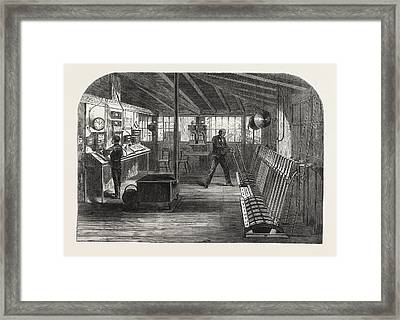 Interior Of The A.b Framed Print