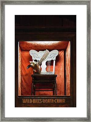 Interior Of The Number 10 Saloon Framed Print by Panoramic Images