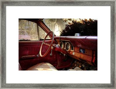 Interior Of The Past Framed Print