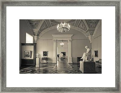 Interior Of The State Hermitage Museum Framed Print by Panoramic Images