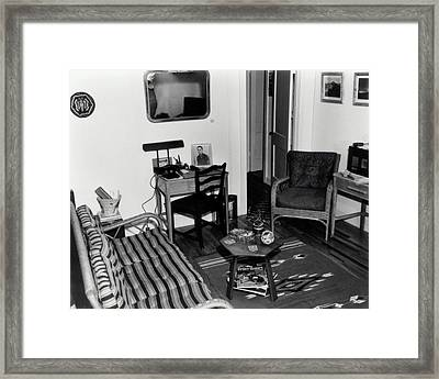 Interior Of Typical House Framed Print by Los Alamos National Laboratory/science Photo Library