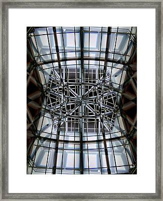 Interior Structure Framed Print by Marcia Lee Jones