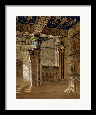Hathor Drawings Framed Prints