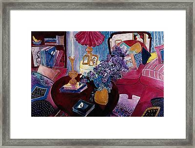 Interior With Picasso Framed Print