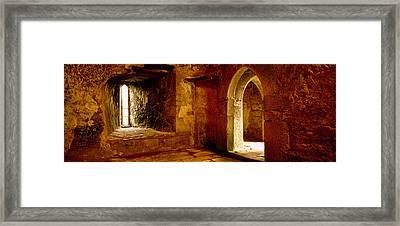 Interiors Of A Castle, Blarney Castle Framed Print