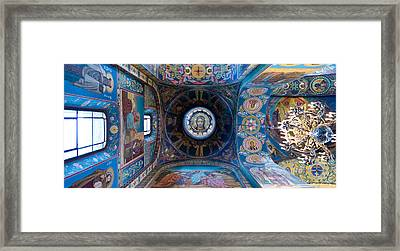 Interiors Of A Church, Church Of The Framed Print by Panoramic Images