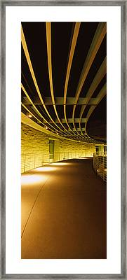 Interiors Of A City Hall, Downtown San Framed Print by Panoramic Images