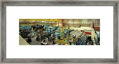 Interiors Of A Laboratory, Hermes Framed Print