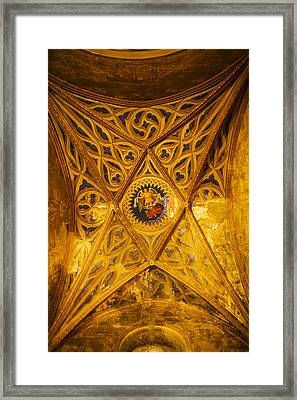 Interiors Of Cathedrale Saint-etienne Framed Print by Panoramic Images