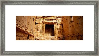 Interiors Of Cella The Hollies Part Framed Print by Panoramic Images