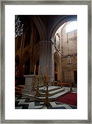 Interiors Of The Church Of St Framed Print