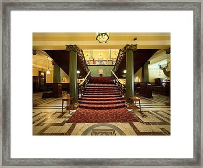 Interiors Of The Rand Club, Loveday Framed Print