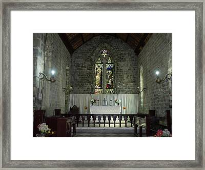 Interiors Of The St. John Framed Print by Panoramic Images