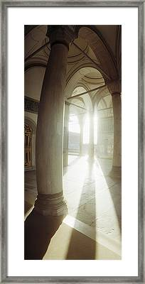 Interiors Of Topkapi Palace Framed Print