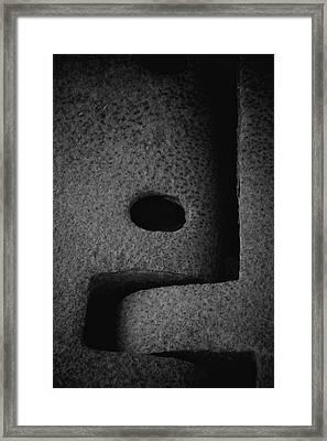 Interlock Framed Print by Odd Jeppesen