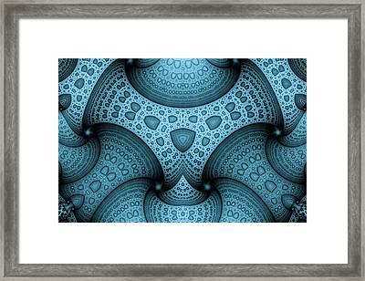 Interlocking Patterns Framed Print by Mark Eggleston